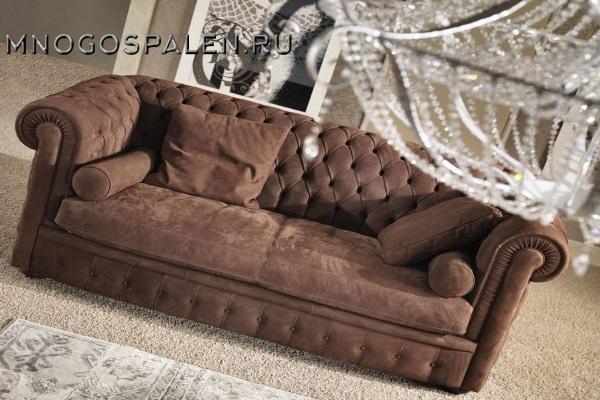 Диван Chester Lux GM купить в салоне-студии мебели Барселона mnogospalen.ru много спален мебель Италии классические современные