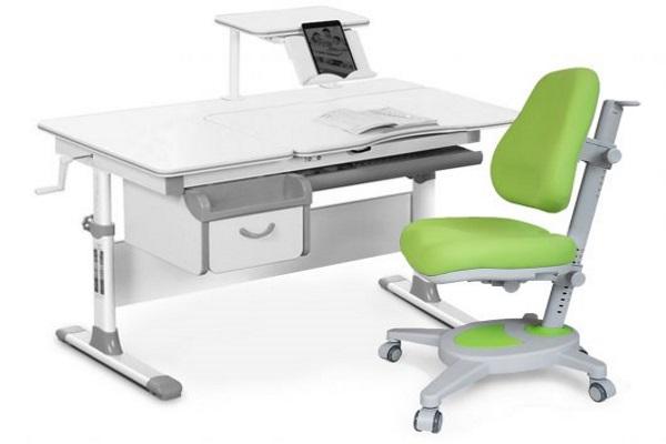 Комплект парта и кресло Mealux EVO-40 купить в салоне-студии мебели Барселона mnogospalen.ru много спален мебель Италии классические современные