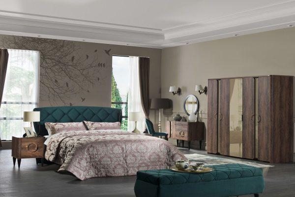 Спальня ARMADA купить в салоне-студии мебели Барселона mnogospalen.ru много спален мебель Италии классические современные