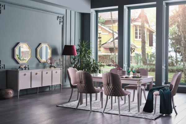 Гостиная Luxe купить в салоне-студии мебели Барселона mnogospalen.ru много спален мебель Италии классические современные